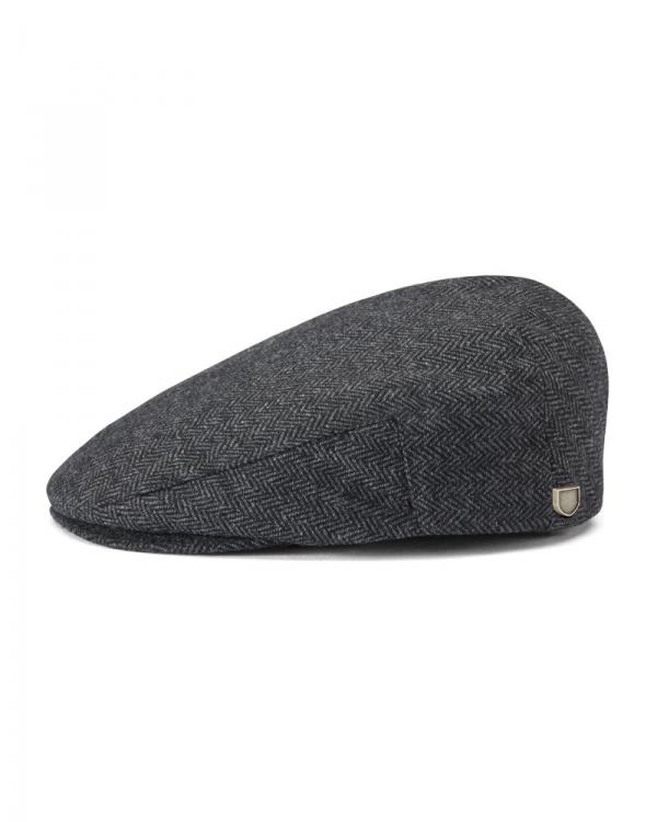 Brixton Hooligan Schieber (grey/black herringbone)