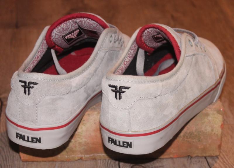 FALLEN Shoe FORTE smoke brick Schuh Sneaker