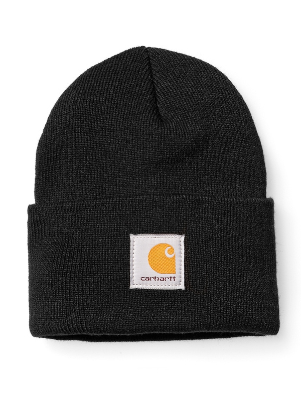Carhartt WIP Acrylic Watch Hat Beanie (black)