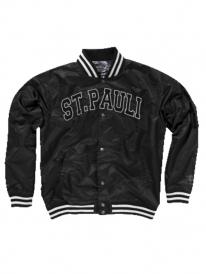 Cleptomanicx Straight Outta St. Pauli All Season Jacke (black)