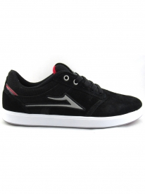 Lakai Linden Chocolate (black suede)