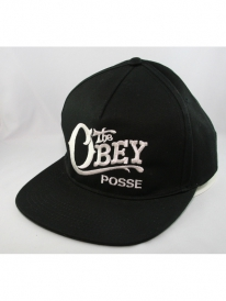 Obey Quality Delivery Cap (black)