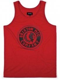 Brixton Grizzly Tank Top (red)