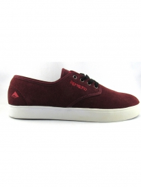 Emerica Laced by Leo Romero (burgundy/white)