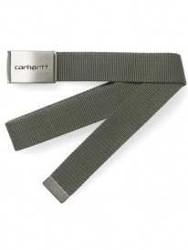 Carhartt WIP Clip Chrome Gürtel (cypress)