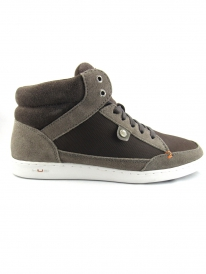 Hub Industry Sneak Suede (dark grey/dark brown/white)