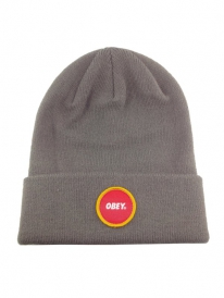Obey Circle Patch Beanie (army)