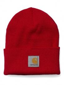 Carhartt WIP Acrylic Watch Hat Beanie (us dark red)