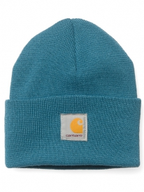 Carhartt Acrylic Watch Hat Beanie (teal blue)